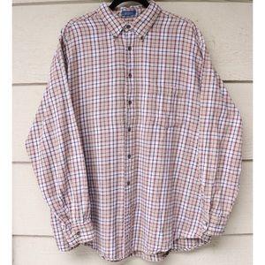 Vintage Towncraft Plaid Button Up Flannel Shirt